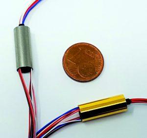 Der Miniatur-Schleifring GSC006 bietet Anwendern völlig neue Möglichkeiten zur Miniaturisierung